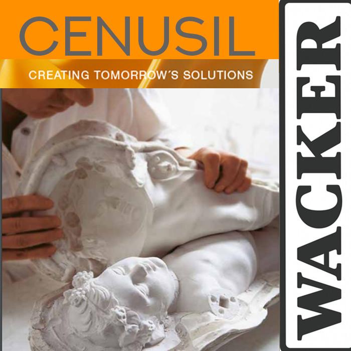 Силикон для форм Wacker CENUSIL® M Ценусил  385 FLEX. 25ШорА. Пр-во Германия.(Уп. 1кг)