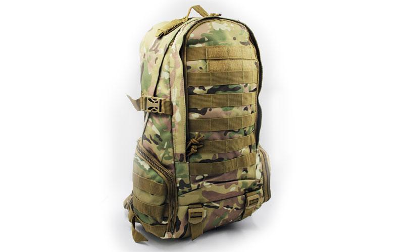 Рюкзак тактический (штурмовой) - 25-30L Silver Knight  Мультикам