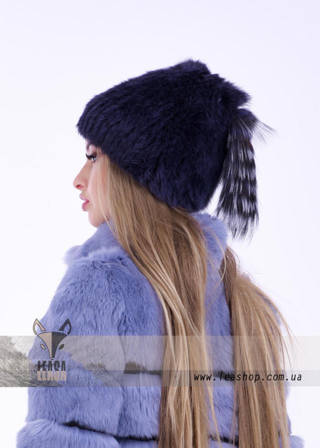 Женская шапка с чернобуркой, фото обзор
