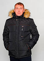 Зимняя мужская куртка аляска большого размера SK-294
