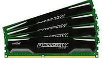 Модуль памяти Crucial DDR3 32GB (4x8Gb) 1600 MHz Ballistix (BLS4CP8G3D1609DS1S00)