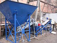 Линия фасовки песка в мешок прошивной, 5 т/час