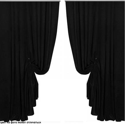 Готовые Портьеры Мультилюкс №132,  Черный, фото 2