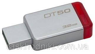 Флеш-накопитель USB 3.0 32GB Kingston DataTraveler 50 Metal/Red (DT50/32GB)
