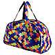 Сумки фитнес Tiger спортивная сумка  желтые плюсы, фото 4