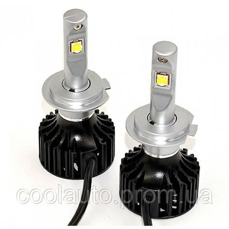 Лампы светодиодные ALed X H7 5000K 4900Lm (2шт), фото 2