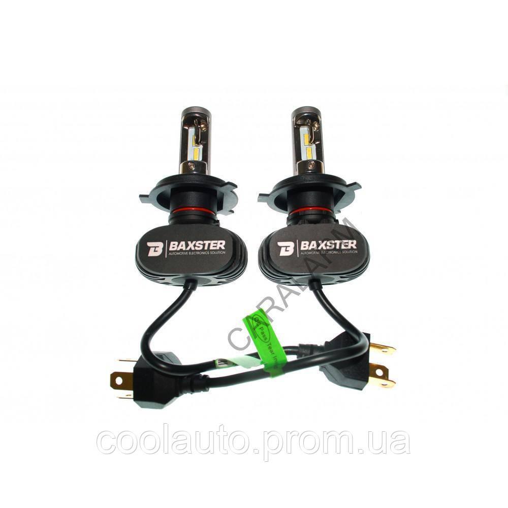 Лампы светодиодные Baxster S1 H1 6000K 4000Lm (2 шт)