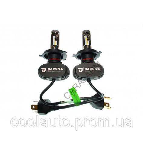 Лампы светодиодные Baxster S1 H1 6000K 4000Lm (2 шт), фото 2
