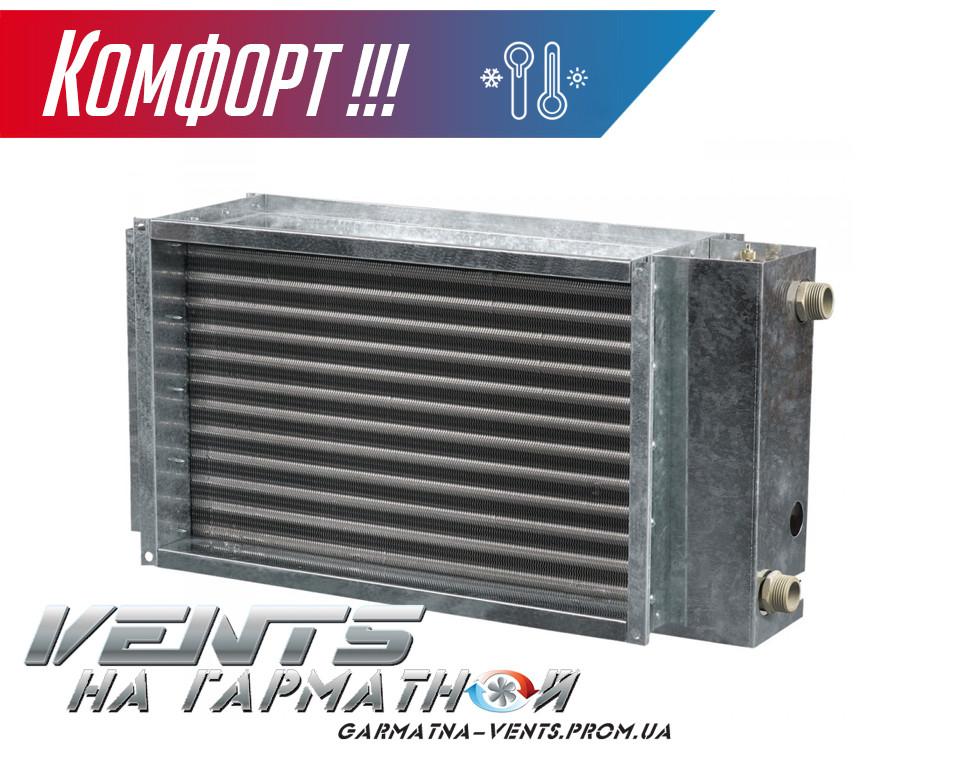 Вентс НКВ 400*200-4. Водяной нагреватель