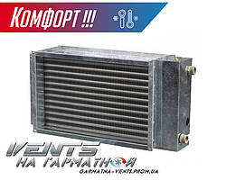Вентс НКВ 800*500-3. Водяний нагрівач