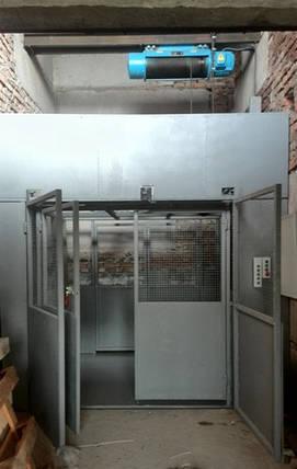 Грузовой подъёмник-лифт г/п 1000 кг, 1 тонна. Проектирование, Изготовление, Монтаж под ключ., фото 2