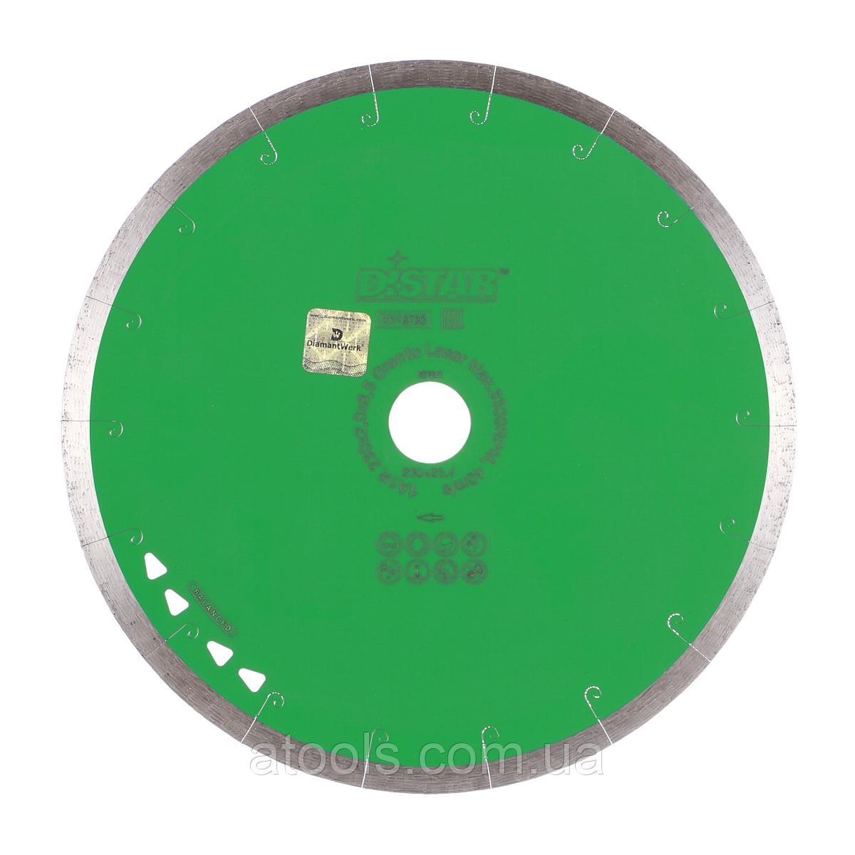 Алмазный отрезной диск Distar Granite Laser 1A1R 400x2.2/1.8x10x32 (11127158026)