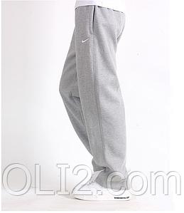Спортивные теплые штаны мужские NIKE прямые