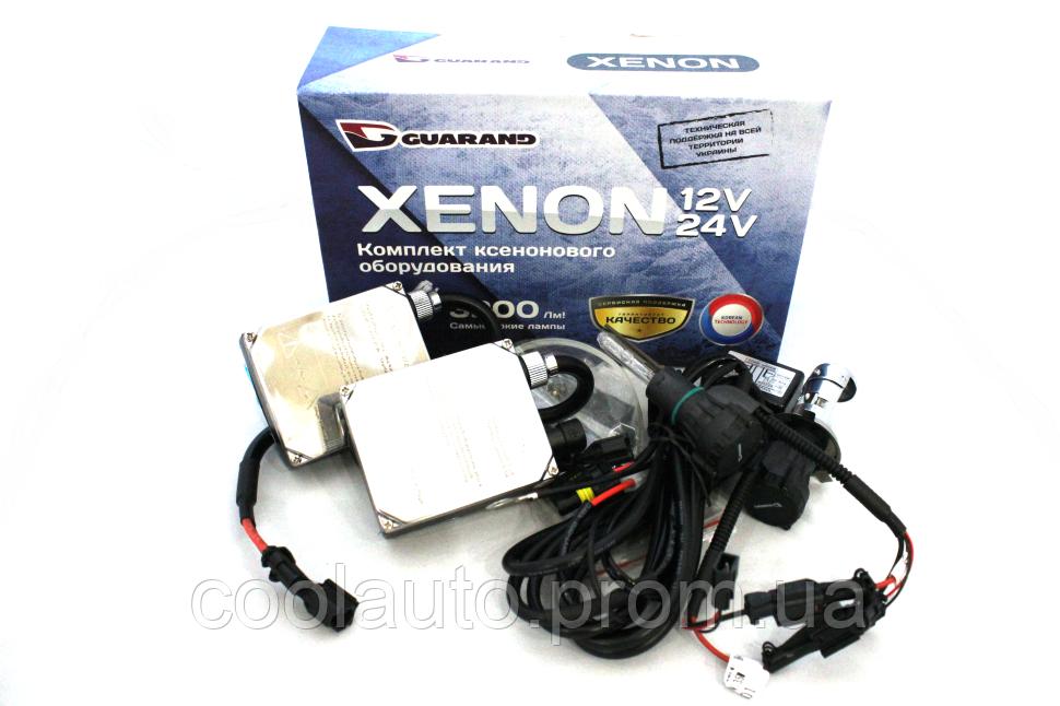 Ксенон Guarand Standart 35W MOHO D2R 4300K/5000K/6000K (Комплект)