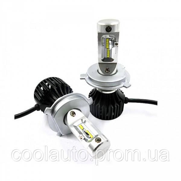 Лампы светодиодные ALed R H4 6500K 4000 Lm (2шт)