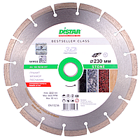 Алмазный отрезной диск Distar Stone 1A1RSS 230x2.6/1.8x10x22.23 (14315084017), фото 1