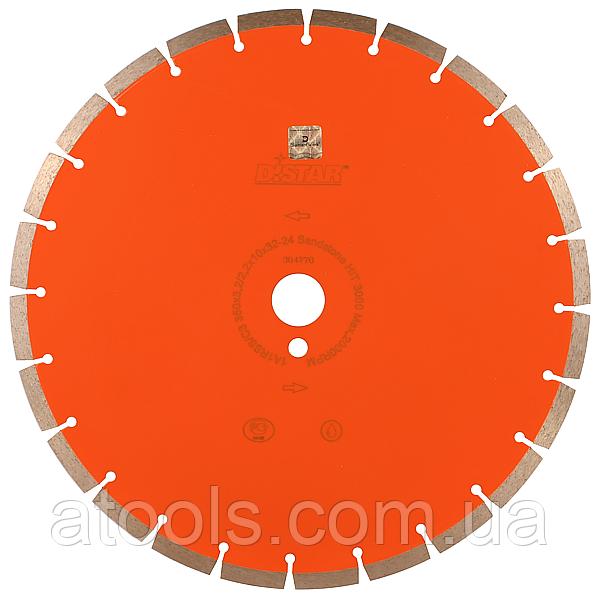 Алмазный отрезной диск Distar 1A1RSS/C3 410x3.8/2.8x15x32-28 Sandstone HIT 3000 (14327077027)