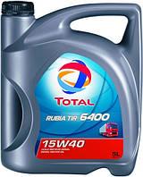 Масло Total RUBIA TIR 6400 15W-40 каністра 5л