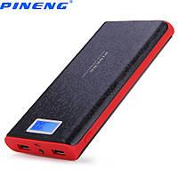 Power Bank Зовнішній акумулятор PINENG 40 000 mAh з дисплеєм заряду P920