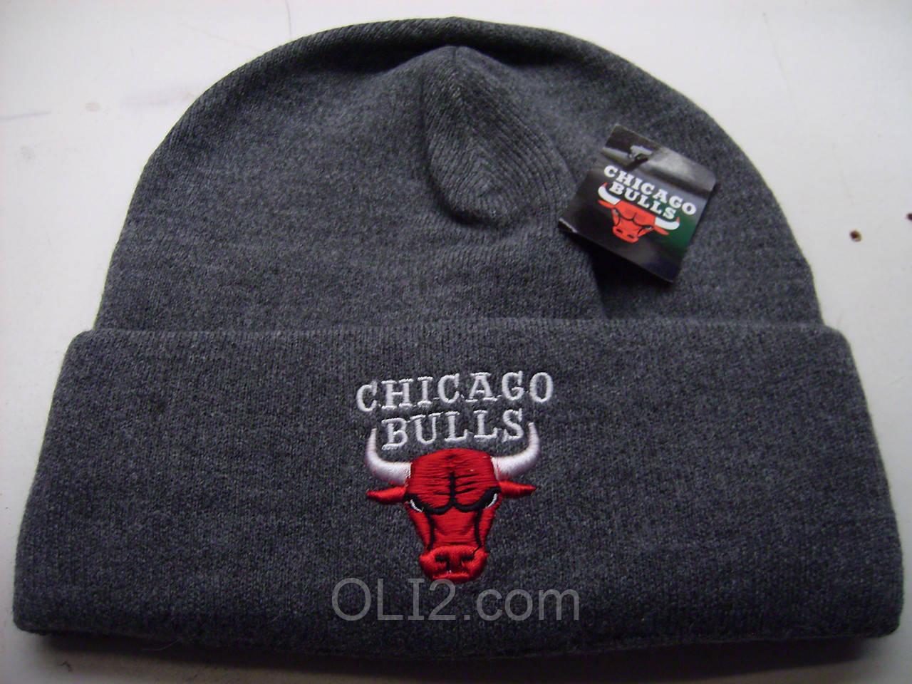 Мужская шапка Chicago Bulls (Чикаго Буллз)