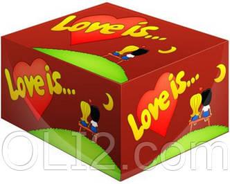 Жвачки Love is   вишня - лимон   жевательная резинка лове ис
