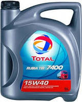 Масло Total RUBIA TIR 7400 15W-40 каністра 5л