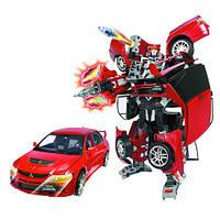 Трансформер ROADBOT, рост 35 см, машина Mitsubishi Lancer Evolution, масштаб 1:12