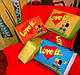 Подушка Love is XXL подарочные подушки любовь жвачки, фото 2
