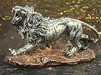Лев на подставке 23 см. сувенир