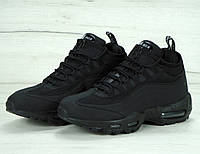 1ca2530a Nike Air Max 95 Sneakerboot Black — Купить Недорого у Проверенных ...