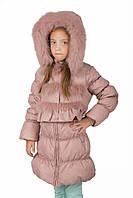 Легкое зимнее пальто Kiko 3384