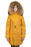 Зимнее пальто для девочки Kiko 3372