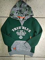 Детский теплый реглан для мальчика True Blue