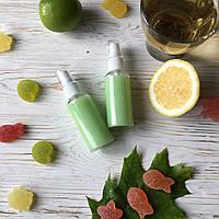 """Очищающий гель-пенка для лица """"Зеленый чай с мятой и лимоном"""""""