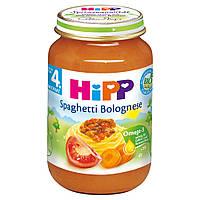 Детское пюре HiPP Спагетти Болоньезе с 4 месяца 190 г