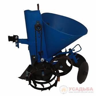 Картофелесажатель для мотоблока (лента + транспортерные колеса)