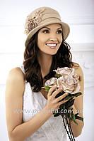 Шляпка шерстяная зимняя с полями Willi Natasha