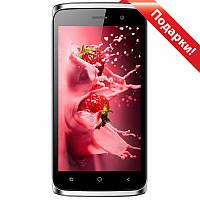 "Смартфон 4.5"" BLUBOO Mini, 1GB+8GB Красный Android 6.0 IPS 4 ядра две камеры автофокус 2SIM + селfи в подарок"