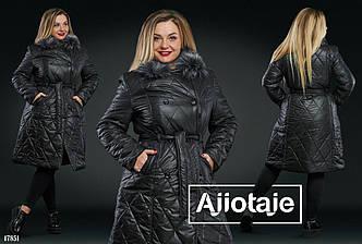 Пальто в больших размерах в расцветках (DV-791)