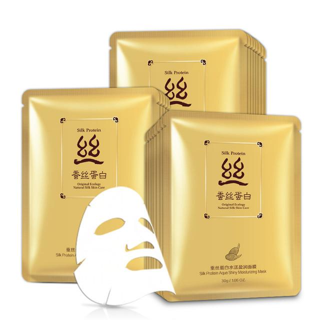 BIOAQUA Silk Protein Aqua Shiny Moisturizing Mask