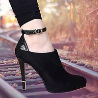 Для женщин Обувь Полиуретан Весна Удобная обувь Обувь на каблуках На плоской подошве Назначение Повседневные Черный 05961268