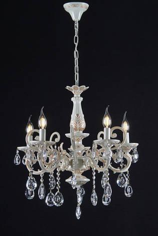 Люстра свеча  (ВЛ)  L7040/5 (WG), фото 2