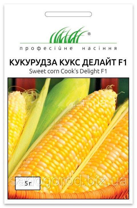 Семена Кукурузы, Кукс Делайт F1, 5 г Dorsing Seeds (США)