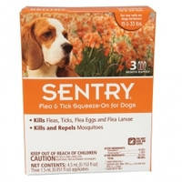Sentry СЕНТРИ капли от блох, клещей и комаров для собак весом 7-15 кг 1 пипетка