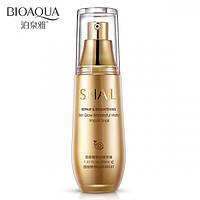 Увлажняющая эмульсия для лица с экстрактом улитки и маслом жожоба BIOAQUA Snail Repair & Brightening Essence, фото 1