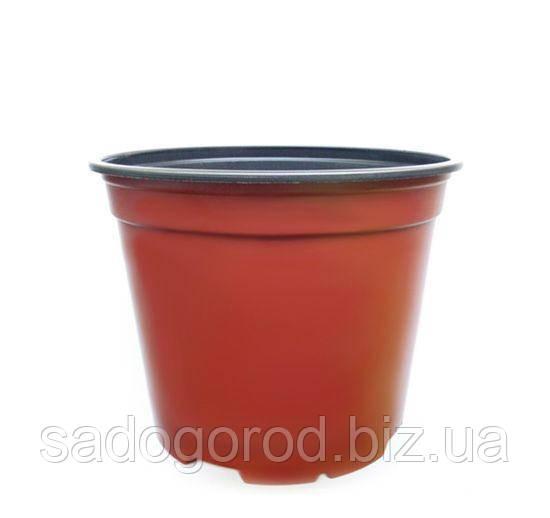Горшок для рассады, d 9 см, объем 0.33 л