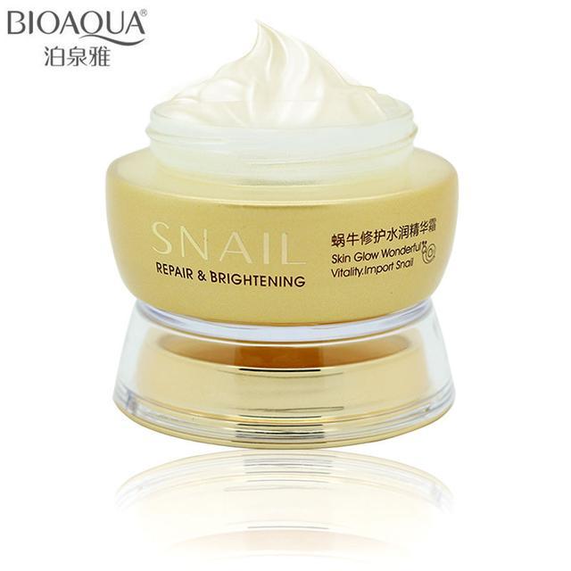 BIOAQUA Snail Repair & Brightening Cream