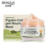 Питательная маска со свиным коллагеном BIOAQUA Pigskin Collagen Nourishing Mask