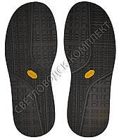 Резиновая подошва/след для обуви BISSELL, т.4,25 мм, цв. черный, art.115