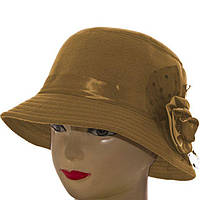 Шляпа фетровая F16007 бежевый